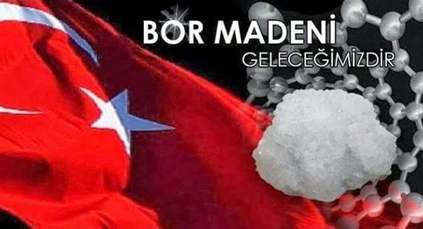 Bor Madeni - Anadolu Bor Vakfı